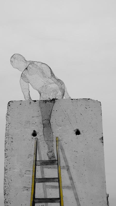 climb over