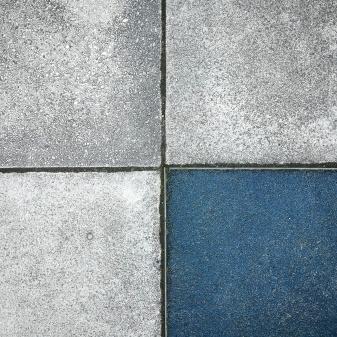 ein viertel blau
