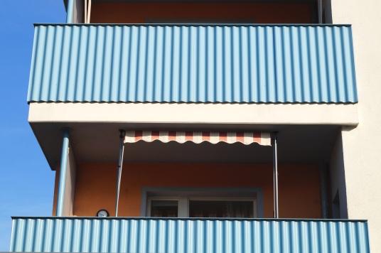balkon klemmmarkise